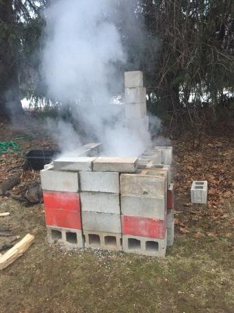Evaporating sap